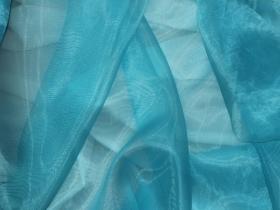 Органза однотонная Синий